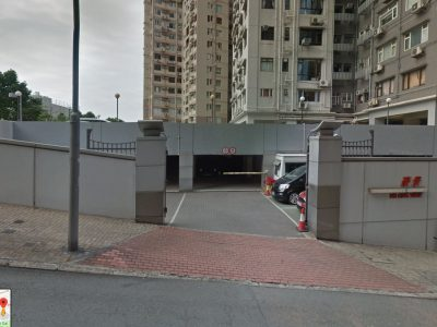 HKV carpark entrance