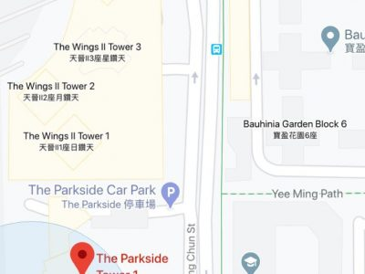The Parkside_Car Park map